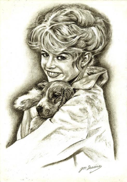 Brigitte Bardot by Mathilde-DRACENA